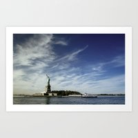 Statue of Liberty 2. Art Print