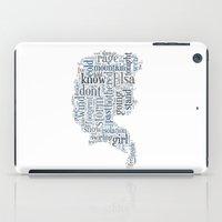 Elsa  iPad Case