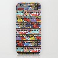 Painted Trains iPhone 6 Slim Case