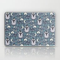 Laptop & iPad Skin featuring Penguin Small by Carly Watts