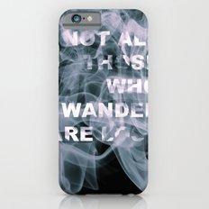 Smoke Quote iPhone 6s Slim Case