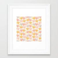 Lily I Framed Art Print