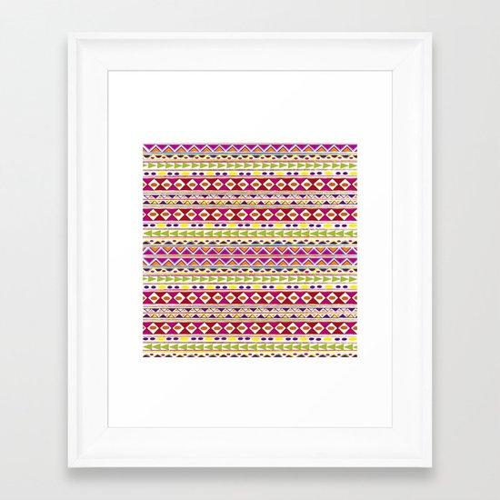 TRIBALFEST Framed Art Print