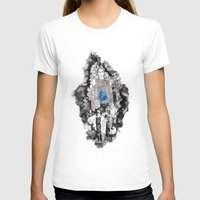 Haunted Womens Fitted Tee White SMALL