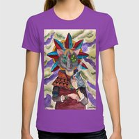 The Shaman Womens Fitted Tee Ultraviolet SMALL