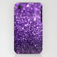 iPhone & iPod Case featuring Purple Glitter I by Hannah