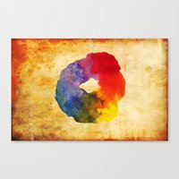 Colors Series 1 : Circle of Life Canvas Print
