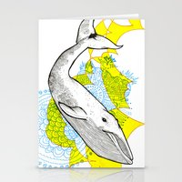 Whale Stationery Cards