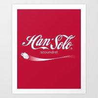 Brand Wars: Han Solo Art Print