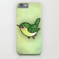 Cute Green Bird iPhone 6 Slim Case