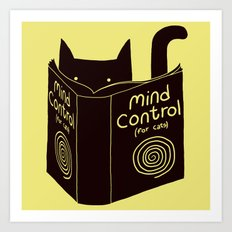 Mind Control (buy this) Art Print