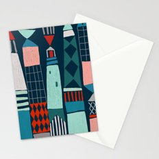 lighthouses Stationery Cards