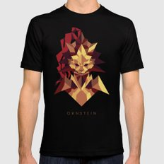 Ornstein the Dragonslayer - Dark Souls SMALL Black Mens Fitted Tee