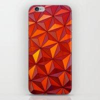 Geometric Epcot iPhone & iPod Skin