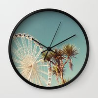 The Height Of Summer Wall Clock