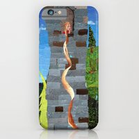 iPhone & iPod Case featuring Let her hair down by GiGi Garcia Collages