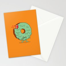 The Zombie Donut Stationery Cards