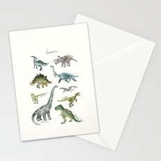 Dinosaurs Stationery Cards