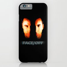 Face Off - Portrait Painting Style iPhone 6 Slim Case