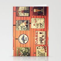 Vintage Signs Stationery Cards