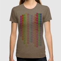 Bricks of Sound Womens Fitted Tee Tri-Coffee SMALL