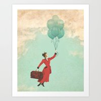 Mary, The Secret Behind … Art Print