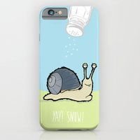 iPhone & iPod Case featuring Yay! Snow! by Monkey Chow