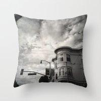 18th St San Francisco Throw Pillow