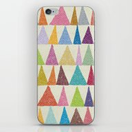 Analogous Shapes In Bloo… iPhone & iPod Skin