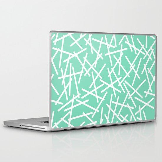 Kerplunk Mint Laptop & iPad Skin
