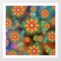 Lovely Floral Pattern Art Print