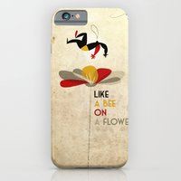 Like A Bee On A Flower iPhone 6 Slim Case