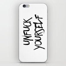 Unfuck Yourself iPhone & iPod Skin