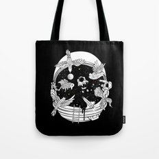 Depth of Discovery (A Case of Constant Curiosity-B/W) Tote Bag