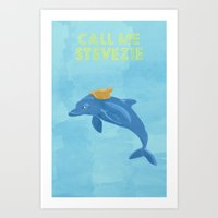 The Life With Stevezie Art Print