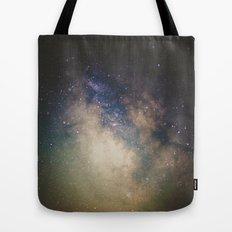 Erupting Galaxy Tote Bag