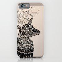 iPhone & iPod Case featuring A Deer by Littlemess