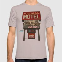 Classy motel sign Mens Fitted Tee Cinder SMALL