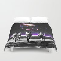 Explore The Unknown Duvet Cover