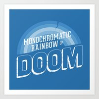 Rainbow Of DOOM Art Print