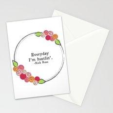 Floral - Hustlin' Stationery Cards