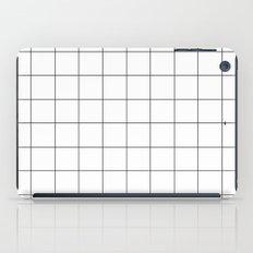White Grid  /// www.pencilmeinstationery.com iPad Case