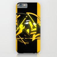 3d graffiti - 'scapes iPhone 6 Slim Case