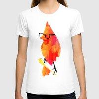 bird T-shirts featuring Punk bird by Robert Farkas