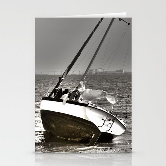 Shipwrecked Stationery Card
