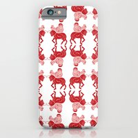 iPhone & iPod Case featuring saddle horse   by sandra sisofo