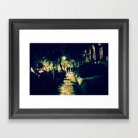 S Street Framed Art Print