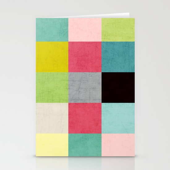 color block II Stationery Card