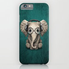 Cute Baby Elephant Dj We… iPhone 6 Slim Case