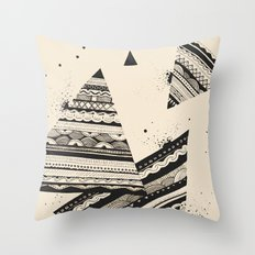 Pattern Doodle Two Throw Pillow
